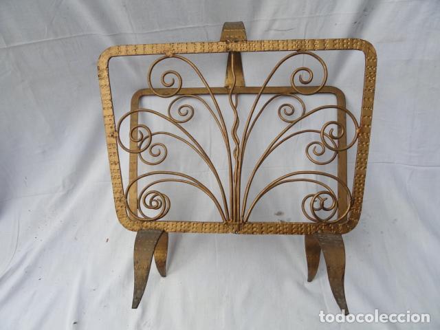 Vintage: REVISTERO DE METAL. - Foto 5 - 75734787