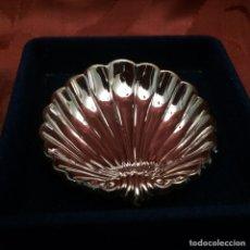 Vintage: CONCHA PLATA FIRMADA PEDRO DURAN. Lote 76560650