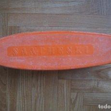 Vintage: MONOPATÍN VINTAGE AUTÉNTICO MARCA SANCHESKI COLOR NARANJA AÑOS 70 AÑOS 80. Lote 76677839