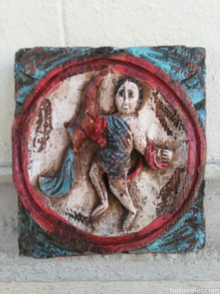 Vintage: Los 12 signos del zodiaco en madera policromada (Horoscopo) - Foto 6 - 76811629