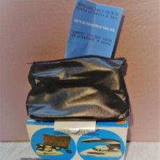 Vintage: PLANCHA AUTOMATICA VIAJE - SOLAC MOD. 631 - PLEGABLE - SIN ESTRENAR - AÑOS 70. Lote 77304825