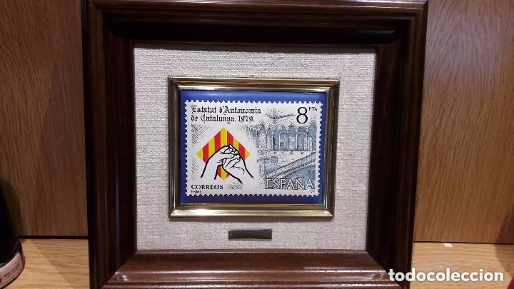 Vintage: ESTATUT DAUTONOMIA DE CATALUNYA 1979. ESMALTE AL FUEGO. TIRADA 3000 EJ. NUMERADO 0465. - Foto 6 - 73495123