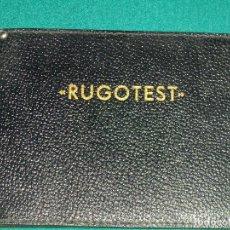Vintage: RUGOTEST. Lote 77569953