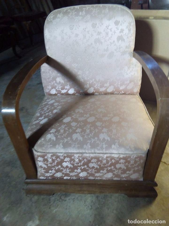 Sillon butaca sofa art deco 1 mitad desc vendido - Cuanto cuesta tapizar una butaca ...