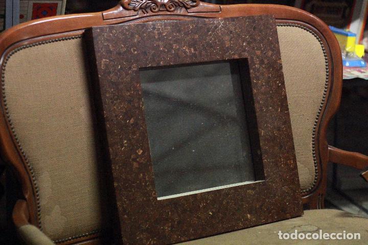 Vintage: Precioso espejo vintage 60x60cm, con gran marco. En buen estado. - Foto 2 - 78163569