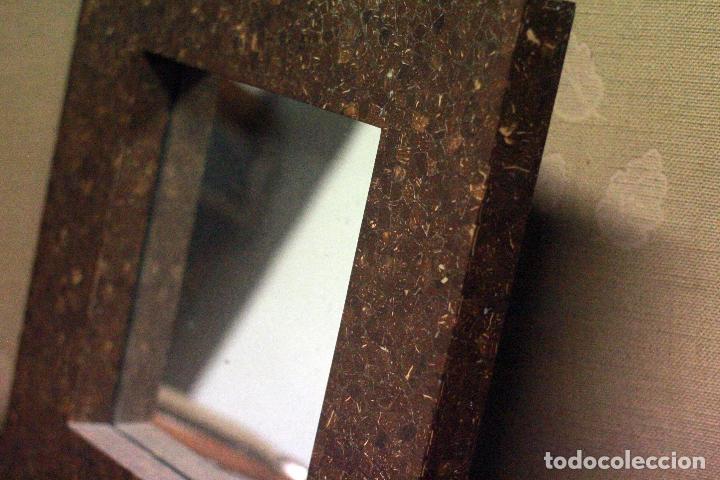 Vintage: Precioso espejo vintage 60x60cm, con gran marco. En buen estado. - Foto 4 - 78163569