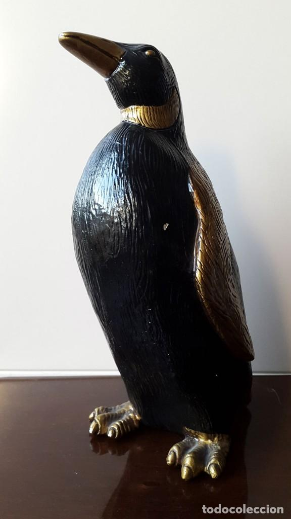 FIGURA DECORATIVA PINGUINO (Vintage - Decoración - Varios)