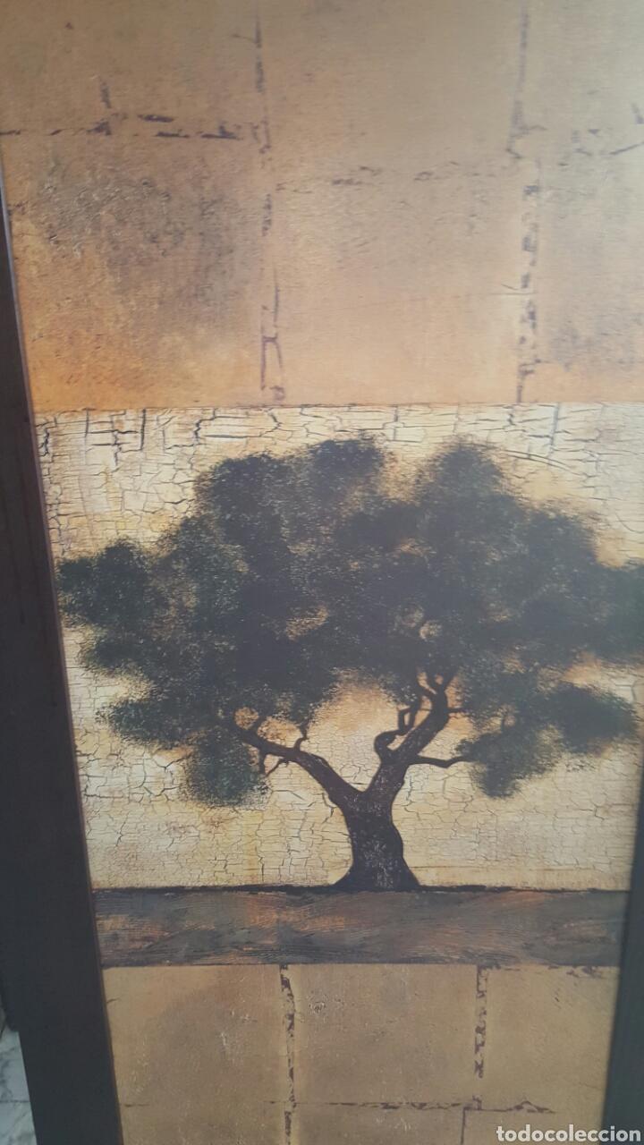 Vintage: Gran cuadro impresion sobre tabla, vintage. Arbol. 59x136cm - Foto 2 - 80215670