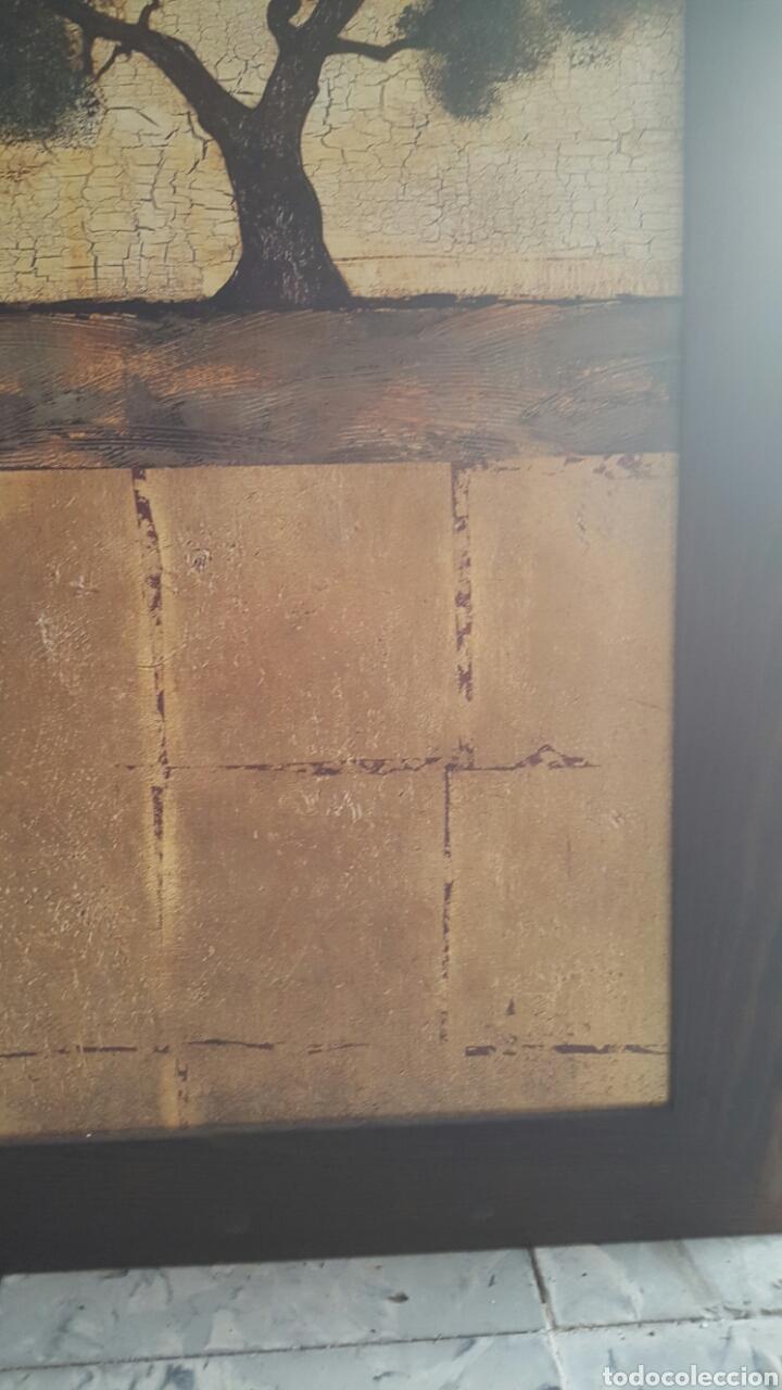 Vintage: Gran cuadro impresion sobre tabla, vintage. Arbol. 59x136cm - Foto 3 - 80215670
