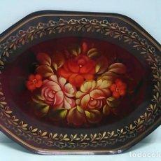 Vintage: BANDEJA VINTAGE, ESMALTADA 18 X 14 CM. Lote 80613226