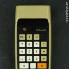 Vintage: CALCULADORA DATAMATH TI-2500 B - TEXAS INSTRUMENTS FUNCIONA SIN ADAPTADOR F495. Lote 80694302