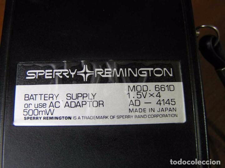 Vintage: CALCULADORA SPERRY REMINGTON 661-D AÑO 1973 - SPERRY REMINGTON CALCULATOR 661D - - Foto 7 - 81318348