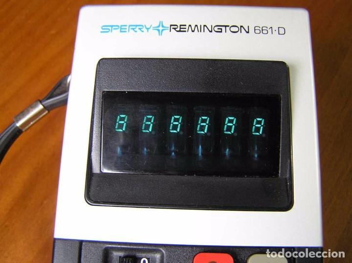 Vintage: CALCULADORA SPERRY REMINGTON 661-D AÑO 1973 - SPERRY REMINGTON CALCULATOR 661D - - Foto 38 - 81318348