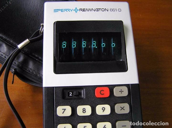 Vintage: CALCULADORA SPERRY REMINGTON 661-D AÑO 1973 - SPERRY REMINGTON CALCULATOR 661D - - Foto 61 - 81318348