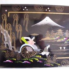 Vintage: ALBUN DE FOTOS MUSICAL. JAPONES. TOYO. FUNCIONA. Lote 81701772