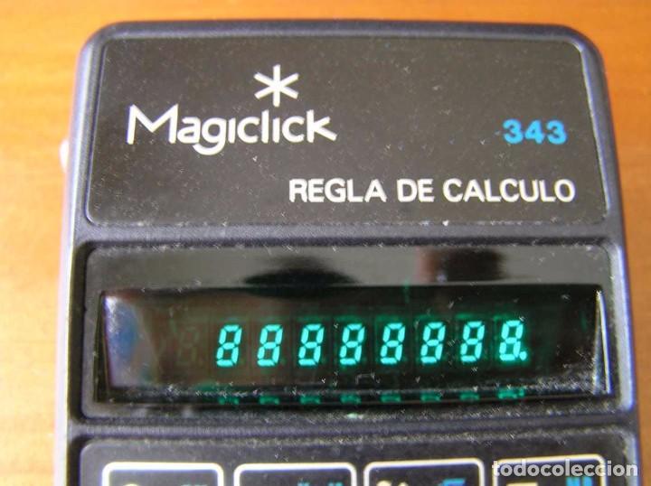 Vintage: CALCULADORA MAGICLICK 343 REGLA DE CALCULO AÑOS 70 MAGICLICK CALCULATOR SLIDE RULE TASCHENRECHNER - Foto 8 - 81744812