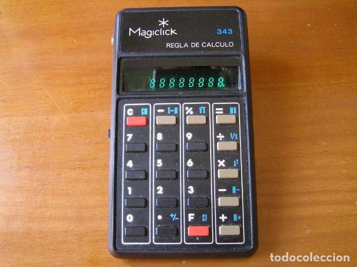Vintage: CALCULADORA MAGICLICK 343 REGLA DE CALCULO AÑOS 70 MAGICLICK CALCULATOR SLIDE RULE TASCHENRECHNER - Foto 19 - 81744812