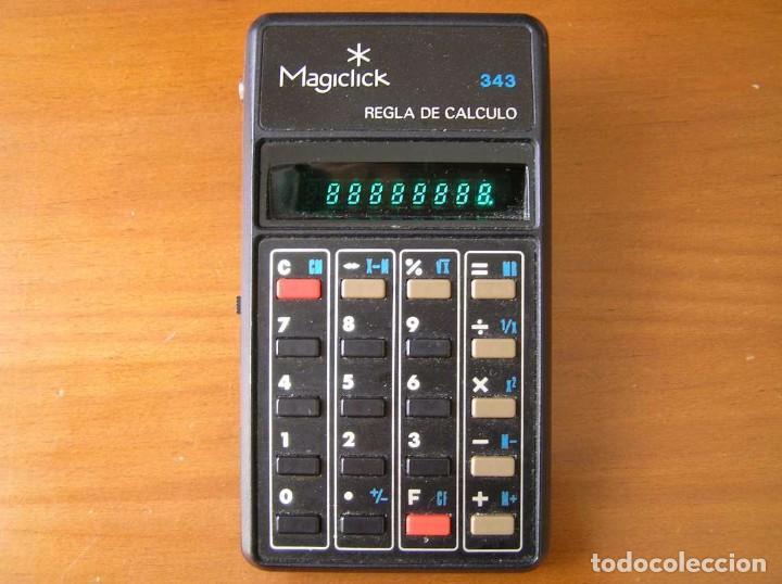 Vintage: CALCULADORA MAGICLICK 343 REGLA DE CALCULO AÑOS 70 MAGICLICK CALCULATOR SLIDE RULE TASCHENRECHNER - Foto 20 - 81744812