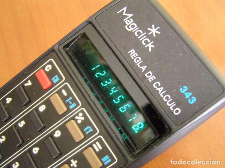 Vintage: CALCULADORA MAGICLICK 343 REGLA DE CALCULO AÑOS 70 MAGICLICK CALCULATOR SLIDE RULE TASCHENRECHNER - Foto 34 - 81744812