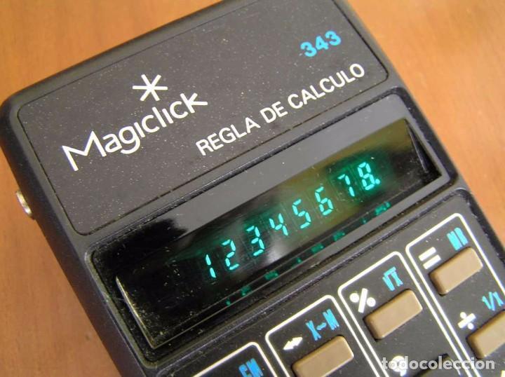 Vintage: CALCULADORA MAGICLICK 343 REGLA DE CALCULO AÑOS 70 MAGICLICK CALCULATOR SLIDE RULE TASCHENRECHNER - Foto 35 - 81744812