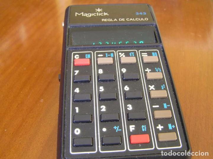 Vintage: CALCULADORA MAGICLICK 343 REGLA DE CALCULO AÑOS 70 MAGICLICK CALCULATOR SLIDE RULE TASCHENRECHNER - Foto 38 - 81744812