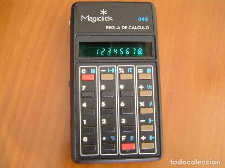Vintage: CALCULADORA MAGICLICK 343 REGLA DE CALCULO AÑOS 70 MAGICLICK CALCULATOR SLIDE RULE TASCHENRECHNER - Foto 39 - 81744812