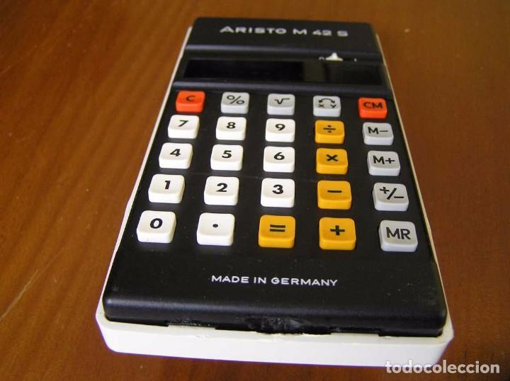 Vintage: CALCULADORA ARISTO M42 S AÑOS 70 - ARISTO ELECTRONIC CALCULATOR TASCHENRECHNER - - Foto 11 - 81900076