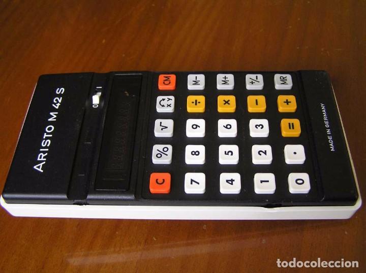 Vintage: CALCULADORA ARISTO M42 S AÑOS 70 - ARISTO ELECTRONIC CALCULATOR TASCHENRECHNER - - Foto 14 - 81900076