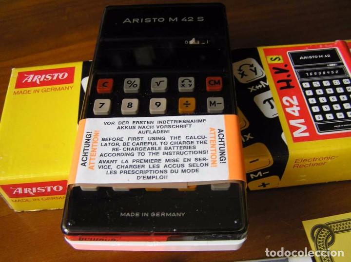 Vintage: CALCULADORA ARISTO M42 S AÑOS 70 - ARISTO ELECTRONIC CALCULATOR TASCHENRECHNER - - Foto 52 - 81900076