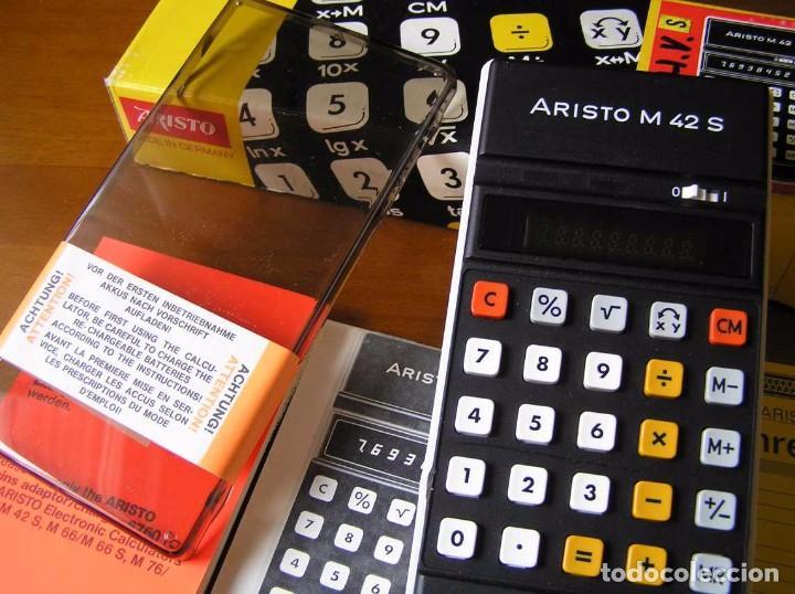 Vintage: CALCULADORA ARISTO M42 S AÑOS 70 - ARISTO ELECTRONIC CALCULATOR TASCHENRECHNER - - Foto 54 - 81900076