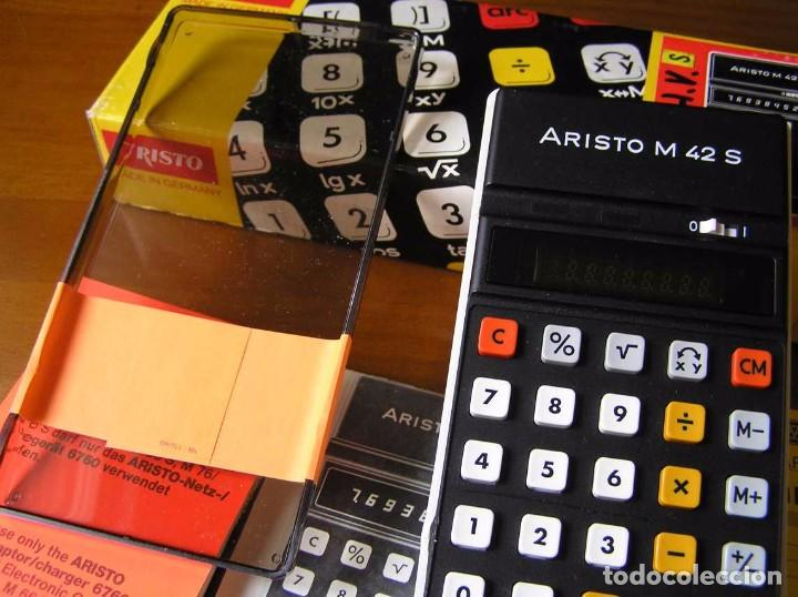 Vintage: CALCULADORA ARISTO M42 S AÑOS 70 - ARISTO ELECTRONIC CALCULATOR TASCHENRECHNER - - Foto 56 - 81900076