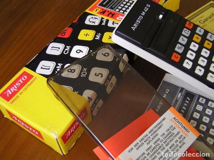 Vintage: CALCULADORA ARISTO M42 S AÑOS 70 - ARISTO ELECTRONIC CALCULATOR TASCHENRECHNER - - Foto 58 - 81900076