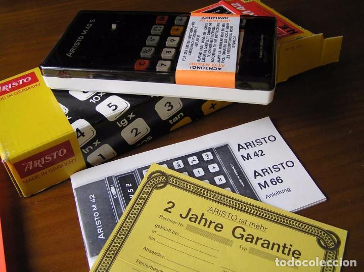 Vintage: CALCULADORA ARISTO M42 S AÑOS 70 - ARISTO ELECTRONIC CALCULATOR TASCHENRECHNER - - Foto 73 - 81900076