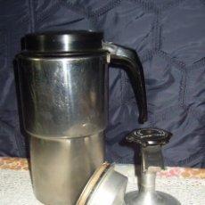 Vintage: CAFETERA MAGEFESA GRANDE 12 TAZAS,ACERO INOXIDABLE.AÑOS 60.. Lote 82216132