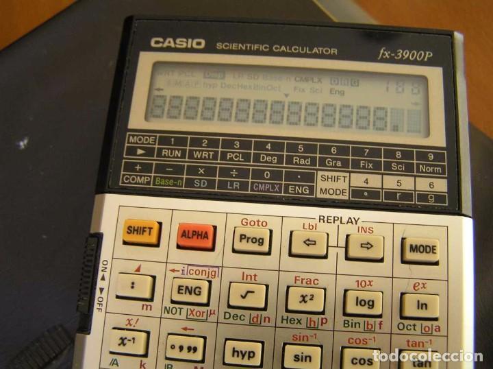 Vintage: CALCULADORA CASIO fx-3900P SCIENTIFIC CALCULATOR CASIO 3900 P - Foto 26 - 82536792