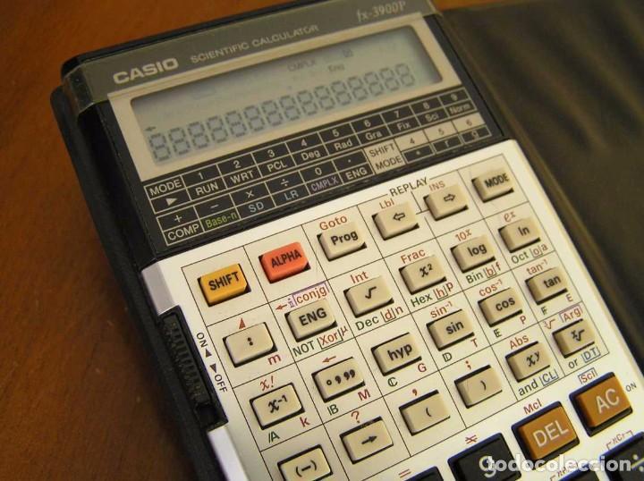 Vintage: CALCULADORA CASIO fx-3900P SCIENTIFIC CALCULATOR CASIO 3900 P - Foto 31 - 82536792