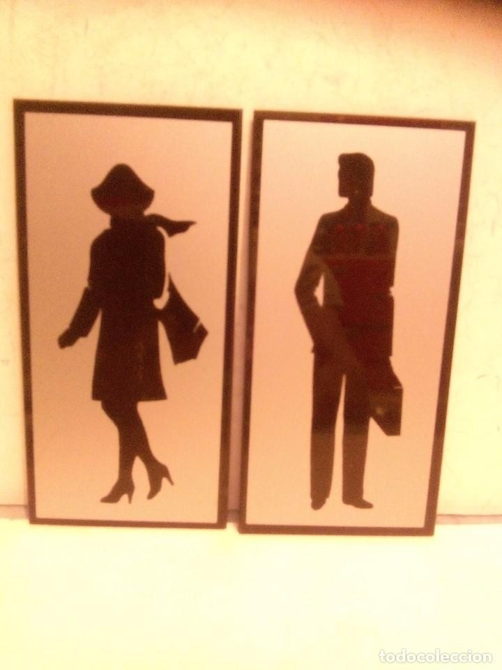 Indicadores Banos.Senales Indicadores Toilette Banos Senora Y Sold Through Direct