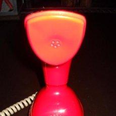 Vintage: ANTIGUO TELÉFONO ERICOFON ROJO COBRA . Lote 82660800