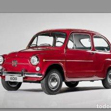 Vintage: AZULEJO 20X30 DE SEAT 600. Lote 91901010