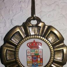 Vintage: MEDALLA CONMEMORATIVA ESCUDO DE POBLACIÓN. Lote 84416492