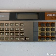 Vintage: ANTIGUA CALCULADORA CASIO CB-100 CHECKBOOK ELECTRONIC CALCULATOR - AÑOS 80 - FUNCIONANDO. Lote 84921404
