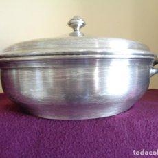 Vintage: SOPERA DE ALPACA PLATEADA. Lote 85238148