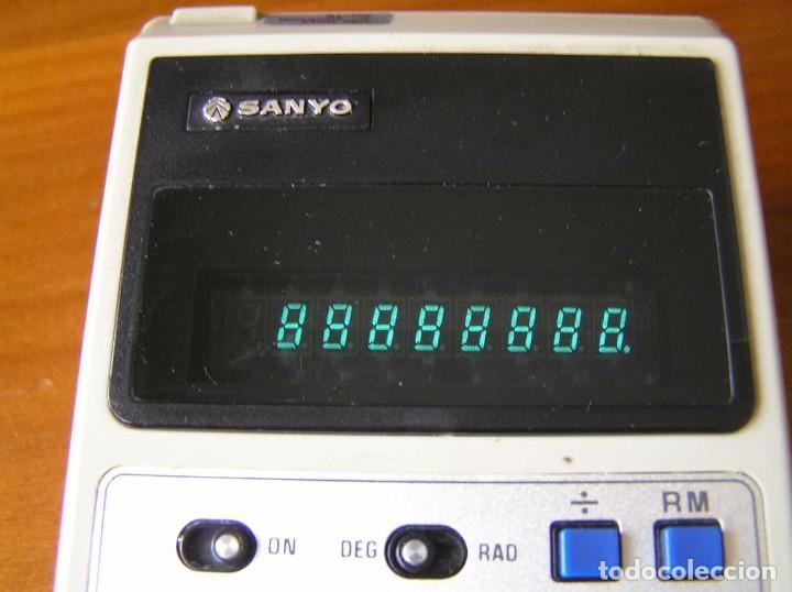 Vintage: CALCULADORA SANYO CZ-8106 DE LOS AÑOS 70 CZ8106 CZ 8106 CALCULATOR - Foto 17 - 85728012