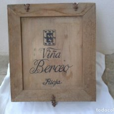 Vintage: VINTAGE CAJA MADERA BERCEO VINO IDEAL PARA DECORACION. Lote 86541460