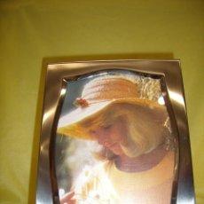 Vintage: MARCO PORTAFOTOS ACERO INOXIDABLE 18/8, AÑOS 70, VINTAGE, PARA FOTOS DE 15 X 20, NUEVO SIN USAR.. Lote 86940476