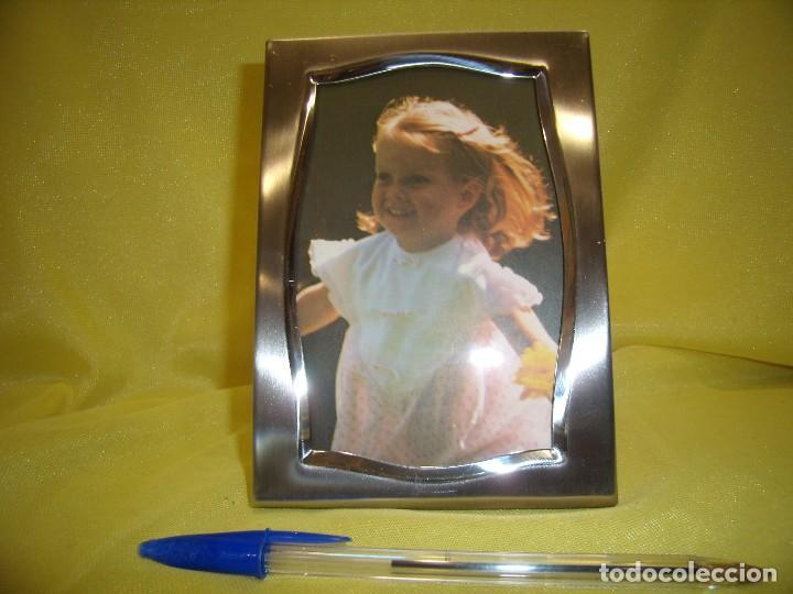marco portafotos acero inoxidable 18/8, años 70 - Comprar en ...