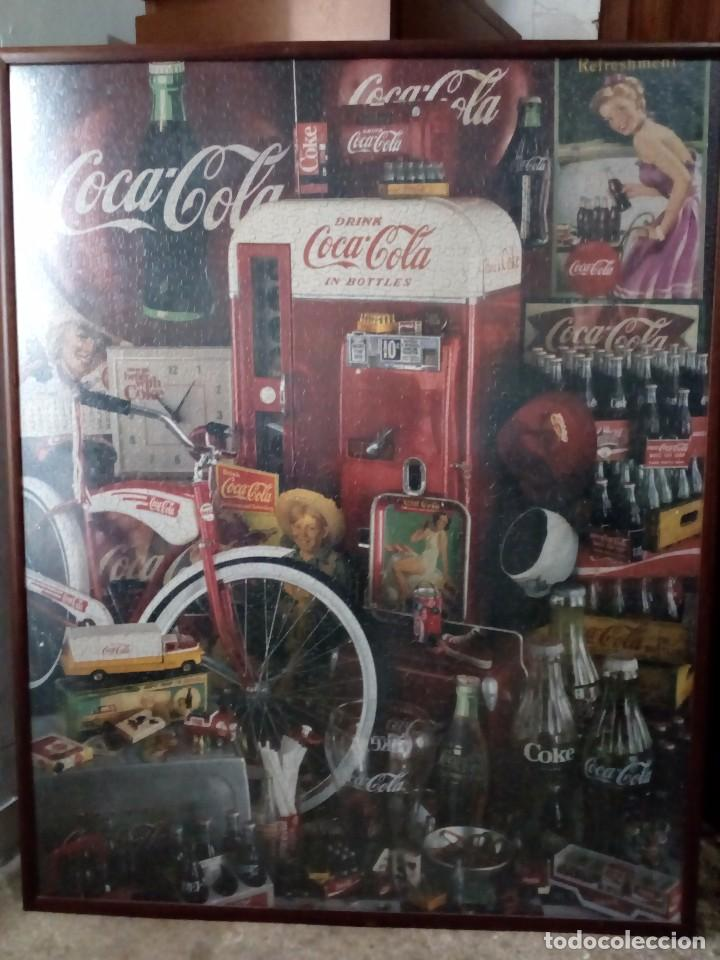 cuadro puzzle cocacola - Comprar en todocoleccion - 87411624