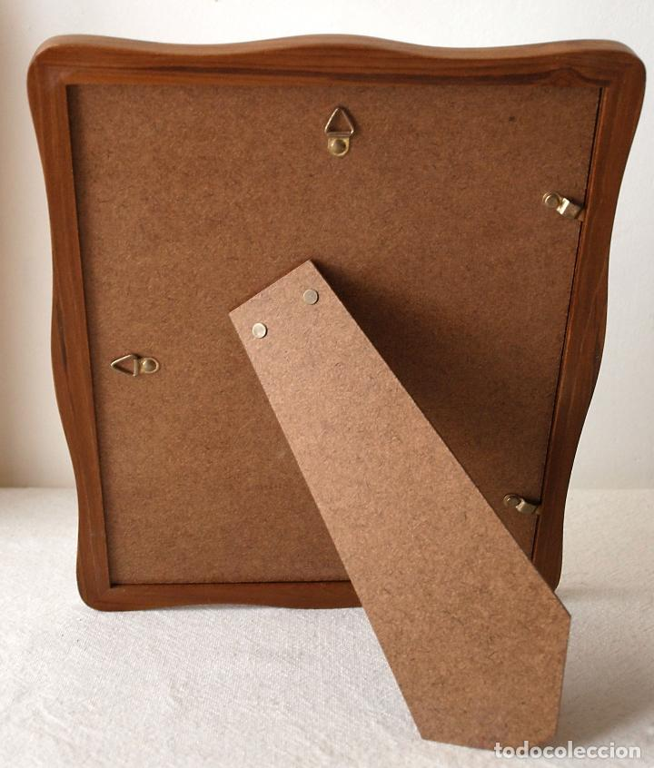 marco de fotos de madera maciza. 23,5 x 28,5 cm - Comprar en ...