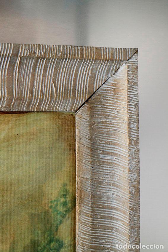 marco de madera vintage 50 x 40 cm - Comprar en todocoleccion - 88317660