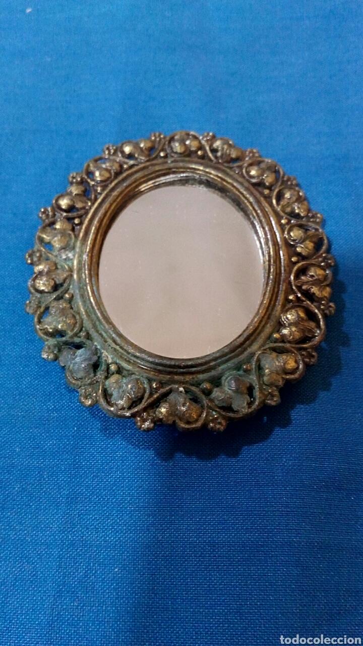 antiguo marco ovalado con espejo - Comprar en todocoleccion - 89126034